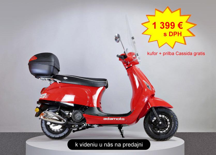 Adamoto Rome skuter 125